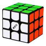QiYi M 3x3x3 Magnetic Magic Cube Black