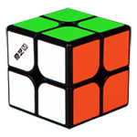 QiYi M 2x2x2 Magnetic Magic Cube Black