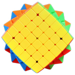 SENGSO Mr. M Magnetic 6x6x6 Speed Cube Stickerless