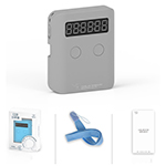 YongJun Pocket Portable infrared Sensor Timer Grey