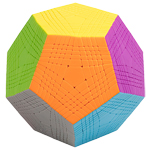 SENGSO 11-Layers Megaminx Cube Stickerless