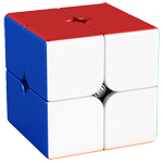 Classroom Meilong M 2x2x2 Magnetic Magic Cube Stickerless