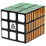 WitEden 3x3x11 I Magic Cube Black