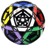 MF8 Multidodecahedron Ball Cube Puzzle Black