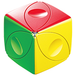 ShengShou Magic Eyes Cube Stickerless