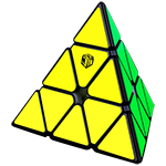 QiYi X-MAN Design Magnetic Pyraminx-Bell V2 Black