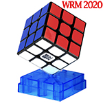 MoYu WeiLong WR M 2020 3x3x3 Magnetic Speed Cube Black