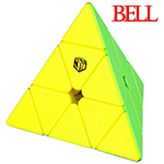 QiYi X-MAN Design Stickerless Magnetic Pyraminx-Bell