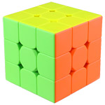 QiYi QiMeng Plus 9cm 3x3x3 Magic Cube Puzzle Stickerless