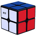 QiYi Warrior W 2x2x2 Magic Cube Black