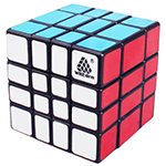 WitEden Mixup 4x4x3 Magic Cube Black