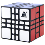 WitEden Mixup 4x4x3 Plus Magic Cube Black