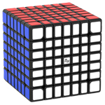 YongJun MGC Magnetic 7x7x7 Speed Cube Black