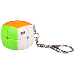 QiYi Bread 2x2x2 Stickerless Cube 35mm Keychain