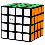 QiYi QiYuan W 4x4x4 Magic Cube Black
