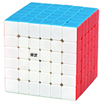 QiYi MoFangGe QiFan S2 6x6x6 Magic Cube Stickerless