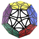 MF8 Helicopter Dodecahedron Magic Cube Black