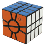 QJ Super Square One 4-Layered Magic Cube Black