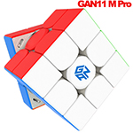 GAN11 M Pro Magnetic 3x3x3 Speed Cube Frosted Tiled Version Primary Core