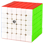 QiYi MoFangGe XMD Shadow V2 M Magnetic 6x6x6 Speed Cube Stic...