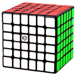 QiYi MoFangGe XMD Shadow V2 M Magnetic 6x6x6 Speed Cube Blac...