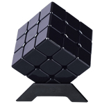 CB Metal Alloy 3x3x3 Magic Cube Black