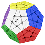 DaYan Megaminx V2 Magnetic Speed Cube with Corner Ridges Stickerless