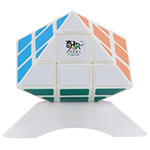 QJ UFO Style Octahedral Magic Cube White