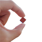 CubeLab 1cm Tiny 3x3x3 Magic Cube Black