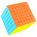 QiYi MoFangGe QiXing S2 7x7x7 Magic Cube Stickerless