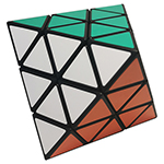 Maru Face-Turning Octahedron Maigc Cube Black