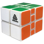 WitEden 2x2x3 Camouflage II Magic Cube White