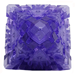 LanLan Gear Octahedral Collective Edition Transparent Purple