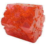 LanLan Gear Hexagonal Prism Collective Edition Transparent Red