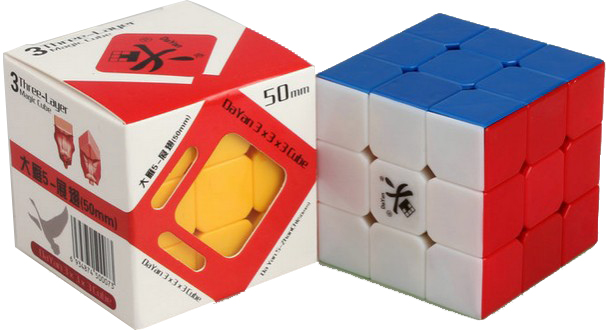 famous brand reasonably priced special section DaYan V Zhanchi 3x3x3 Stickerless Magic Cube ...