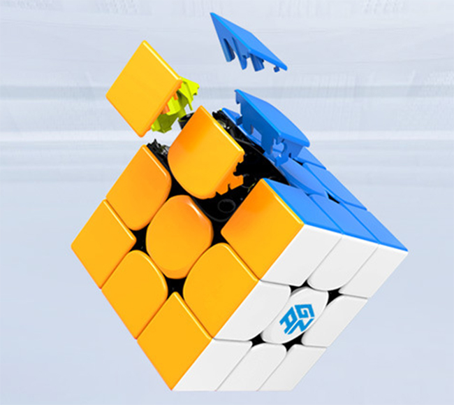 GAN354 M V2 3x3x3 Magnetic Speed Cube Stickerless