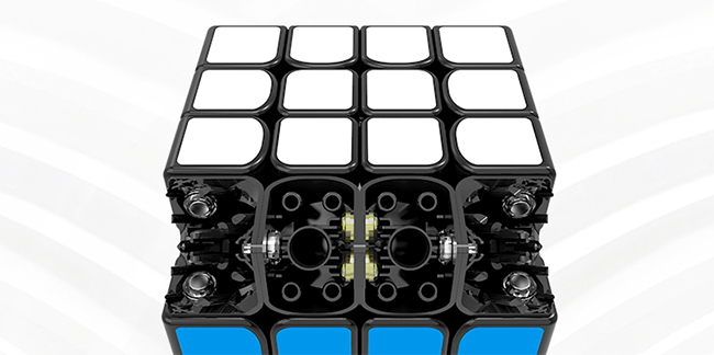 GAN460 M 4x4x4 Magnetic Stickerless Speed Cube