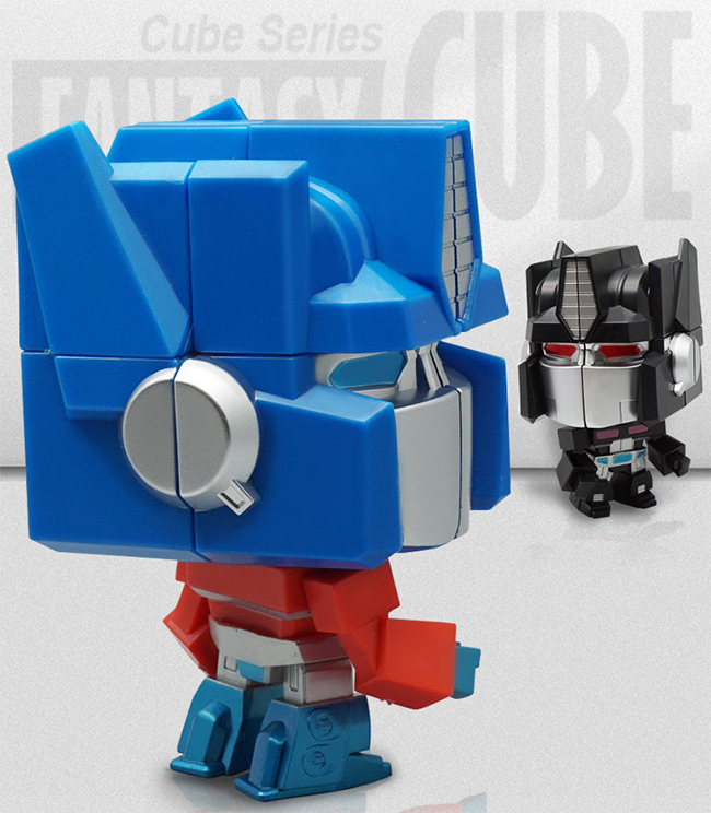 MBD 2x2 Action Figure Blue