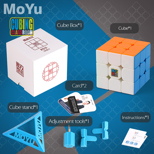 Cubing Classroom RS3 3x3x3 Stickerless Speed Cube