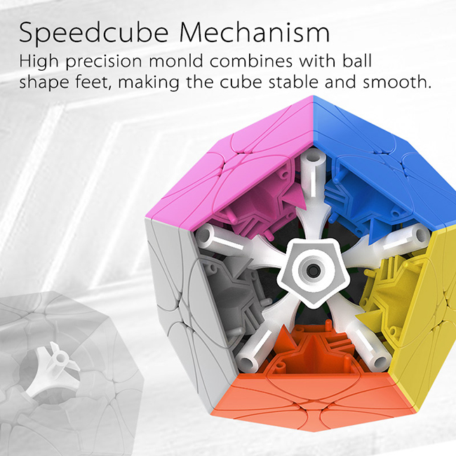 MoYu Rediminix Cube Stickerless