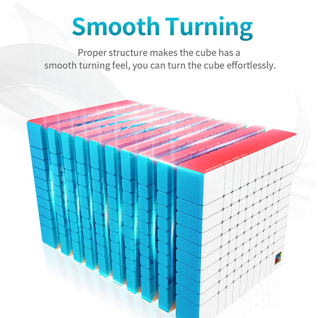 Cubing Classroom MeiLong 10x10x10 Magic Cube Stickerless