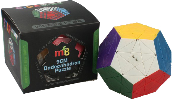 MF8 Starminx Version III Stickerless Magic Cube