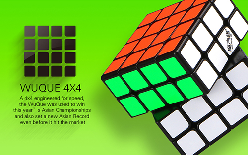 QiYi Mofangge WUQUE 4x4x4 Speed Cube