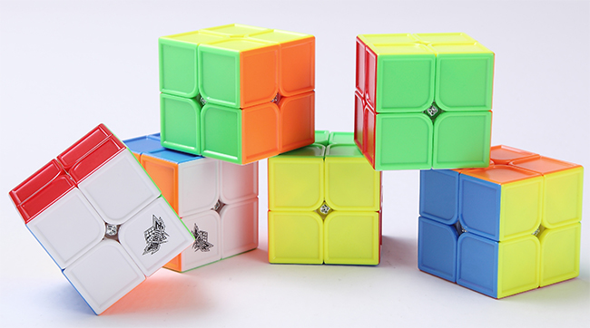 Cyclone Boys Fox FeiHu Concave 2x2x2 Stickerless Speed Cube