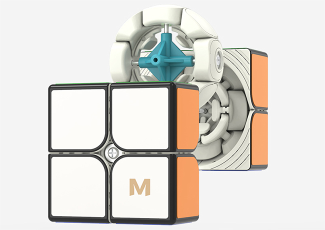 YongJun MGC Elite Magnetic 2x2x2 Speed Cube Stickerless