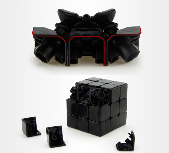 MoYu AoLong GT 3x3x3 Speed Cube Black