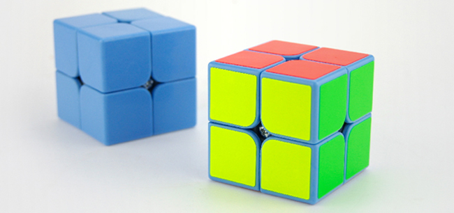 MoYu TangPo 2x2x2 Speed Cube White