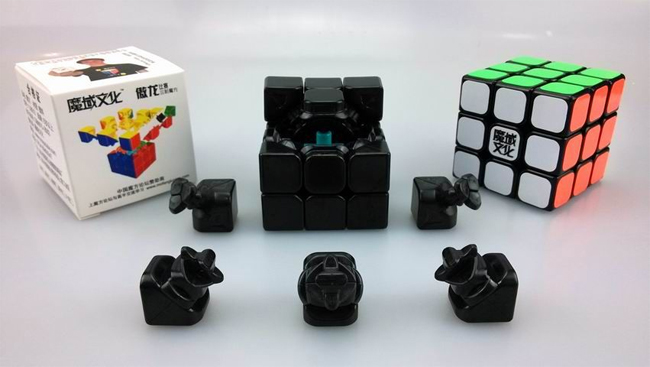 Mini MoYu AoLong Speed Cube 54.5mm Black