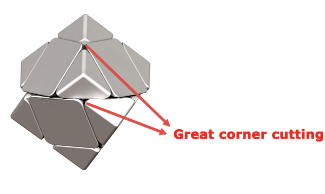 MoYu Skewb Great Corner Cutting