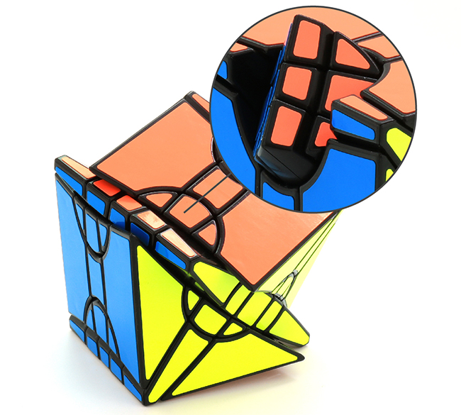MoYu Fisher Time Wheel Magic Cube Puzzle
